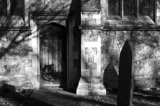 Church Door by SquarePeg