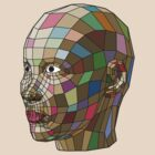 Polygonal Face #1 by L- M-K