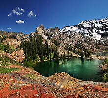 Lake Blanche, Utah, Summer by Ryan Houston