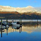 Sunrise at Wanaka . South Island, New Zealand.  by Ralph de Zilva