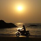 Freedom on a Motorcycle by loewenherz