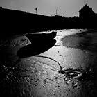 Harbour Silhouette Ballywalter by ragman