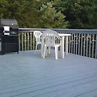 Large deck overlooking secluded woods & Sudbury River by SantaXmas