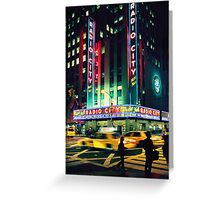 Radio City... Greeting Card