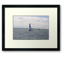 sailing bye Framed Print