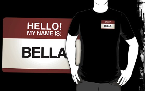 NAMETAG TEES - BELLA by webart