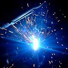 Bright Spark Welder by Melissa Blowers