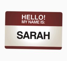 NAMETAG TEES - SARAH by webart