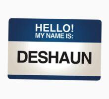 NAMETAG TEES - DESHAUN by webart
