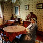 Inside the Charlie Napier Hotel at Sovereign Hill by Christine Smith