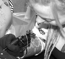 manchester tattoo convention 2011 by jecki