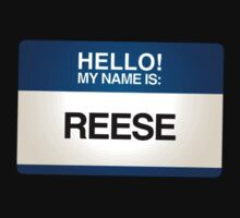 NAMETAG TEES - REESE by webart