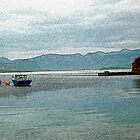 Fishing Boat at Ard Neackie by derekbeattie