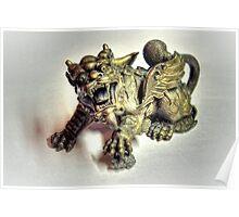 Brass Dragon Poster