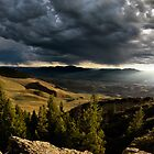 Mountain Evening in Central Idaho by Leland Howard