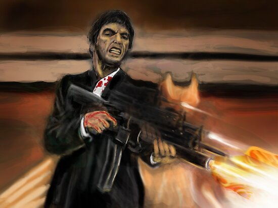 SCARFACE ! by Ray Jackson