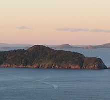 Looking out from Tomaree Headland! by KiriLees