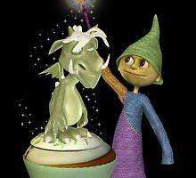 Trainee Wizard by LoneAngel