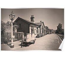 Oakworth Station Poster