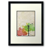 If I Had The Wings Of An Eagle... Framed Print