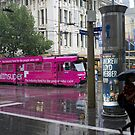 Pink Tram by Christina Norwood