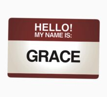 NAMETAG TEES - GRACE by webart