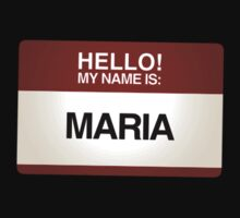 NAMETAG TEES - MARIA by webart