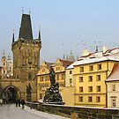 Charles Bridge, Prague by Eric Flamant