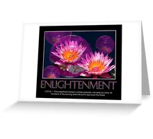 Enlightenment Greeting Card
