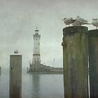 Lindau harbour by Iris Lehnhardt