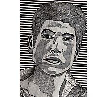 78 - BOB DYLAN - DAVE EDWARDS - INK - 1984 Photographic Print