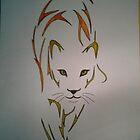 cat by fernandozart