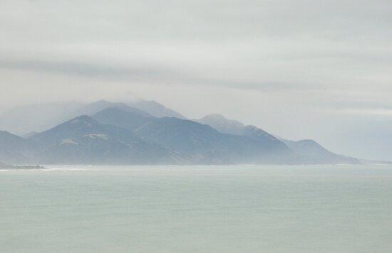 Sea Mist, Kaikoura NZ by Odille Esmonde-Morgan