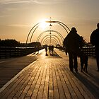 On the Pier - 2 by Paul Turri