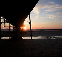 Under the Boardwalk, down by the sea by Paul Turri