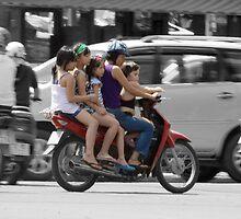 Motorcycle MPV - who needs a Minivan!? by Chris Cherry