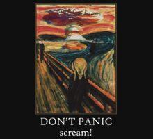 Don't Panic - Scream! Kids Clothes