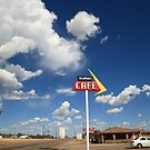 Route 66 - Adrian Texas by Frank Romeo