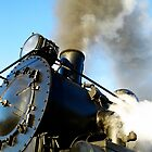 """old locomotive with the name """" Kingston Flyer """" by pic4you"""
