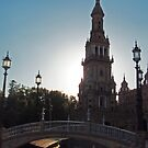 Plaza Espana, Sevila, Spain by colourfreestyle