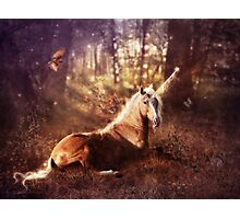 Ancients Series: The Unicorn Photographic Print
