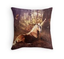 Ancients Series: The Unicorn Throw Pillow