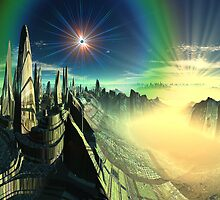 Emerald City - Planet Oz by SpinningAngel