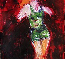 lady of the night 2, 2011 by Thelma Van Rensburg