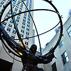 Atlas at the Rockefeller Center by Christy Hoffman