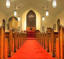 St. Peter's Evangelical Lutheran Church by Sharon Batdorf