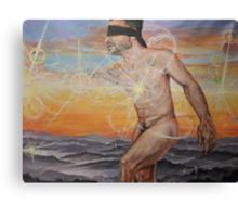 Ascension , acrylic on canvas Canvas Print