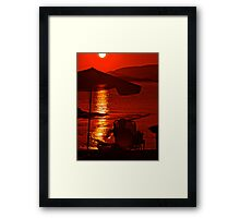Quite simply, the  Red Miracle .Bali . Views (351) Thanks !!! +Featured  i the Monochrome in Color Group+  Framed Print