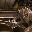 Steam Engine Drive Wheel by ©  Paul W. Faust