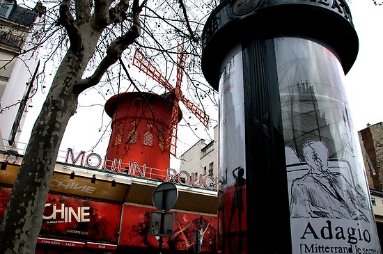 Paris - Pigalle by Jean-Luc Rollier